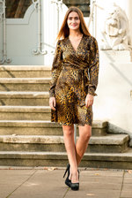 Wrapdress Leopard