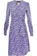 Wrapdress Artdeko purple