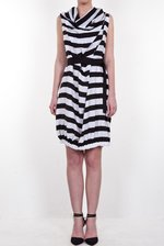 Multifunctional striped dress