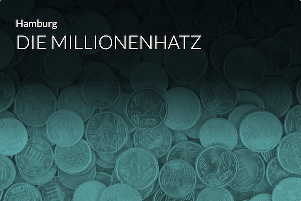 Die Millionenhatz Coverbild