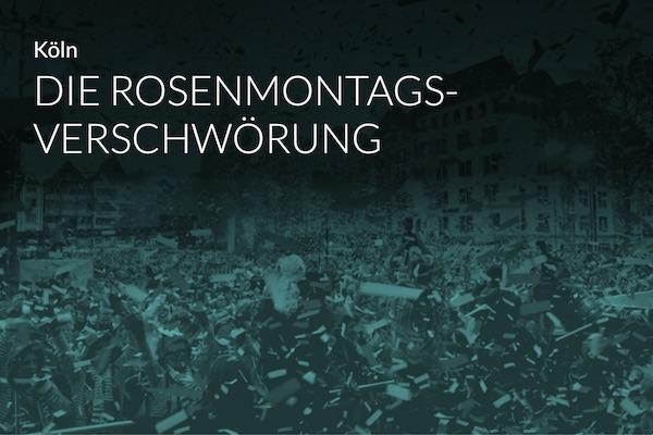 Die Rosenmontags-Verschwörung Coverbild