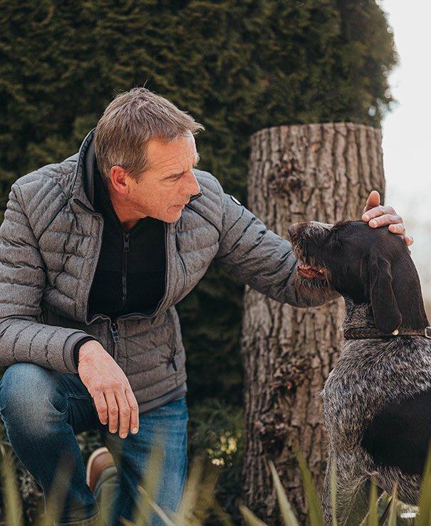 ROSENGARTEN Tierbestattung Streubeet Hund Formular Haustiervorsorge