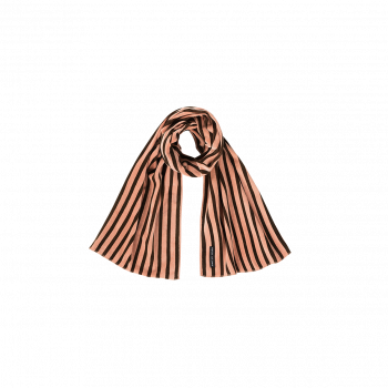 Blush & Choco Stripes Velvet