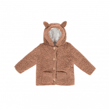 TEDDIE HOODED JACKET FOX