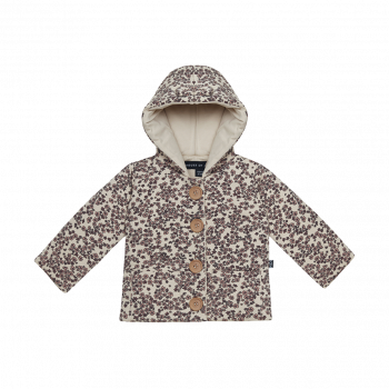BOW TIE HOODED JACKET