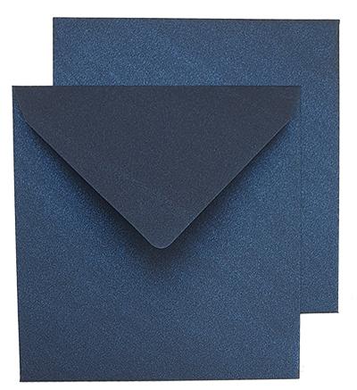 """מעטפות פנינה - 16X16 ס""""מ כחול"""