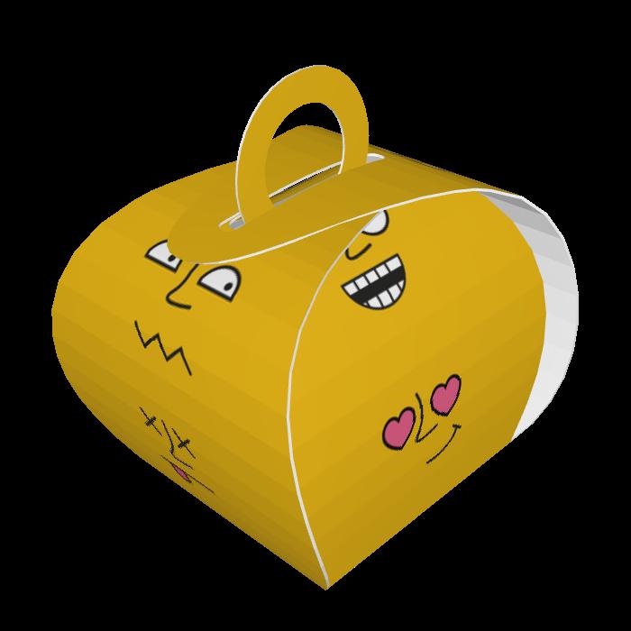 קופסאות הפתעה בעיצוב אישי, דגם פרצופים