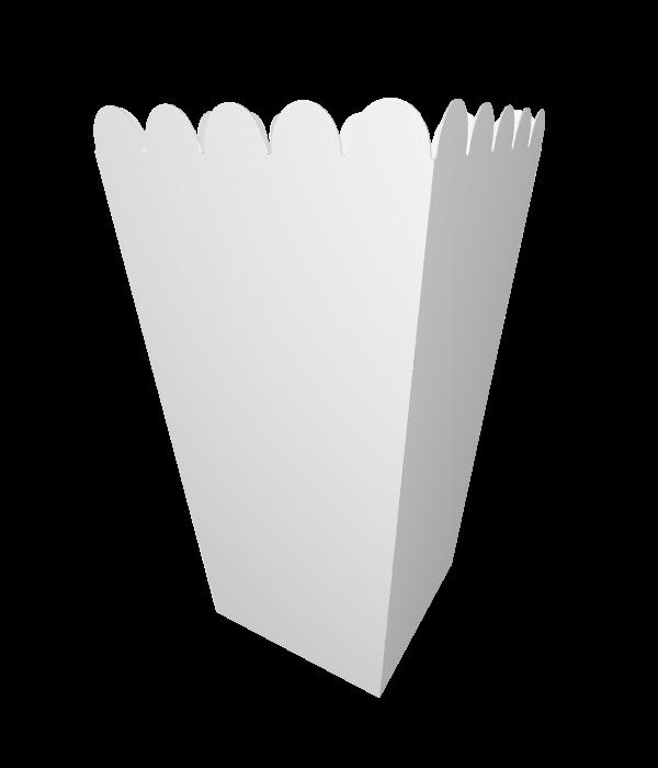 קופסאות פופקורן בעיצוב אישי, דגם דף נקי
