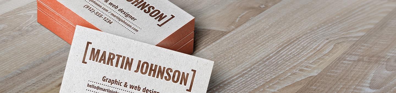 עיצוב כרטיסי ביקור אונליין