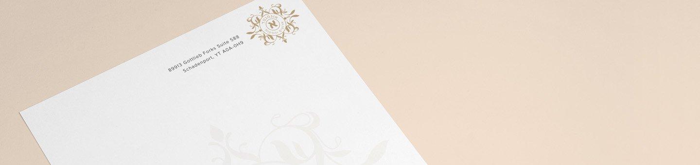 עיצוב נייר מכתבים אונליין