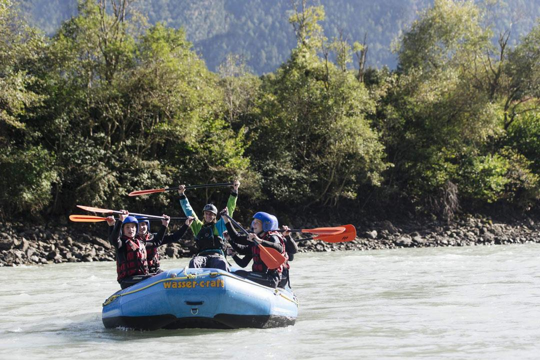 Rafting children  Oetztal (c)TVB Oetztal
