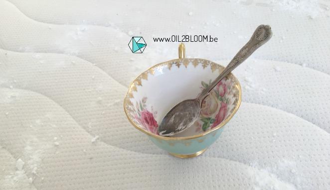 matras reinigen met natrium bicarbonaat
