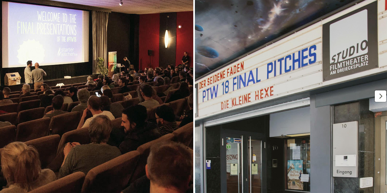 Abschlusspräsentation im Studio Kino Kiel