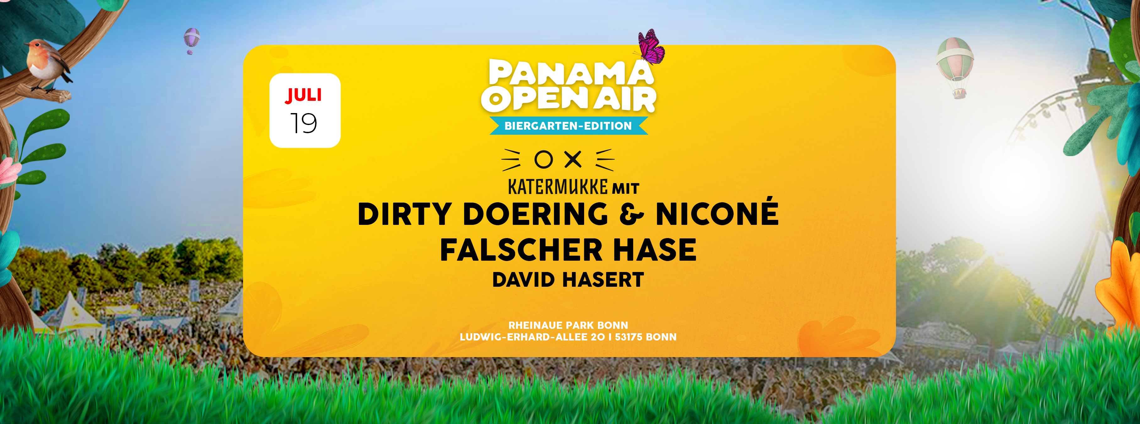 Tickets Fur Panama Open Air Biergarten Edition W Katermukke Falscher Hase Vivenu