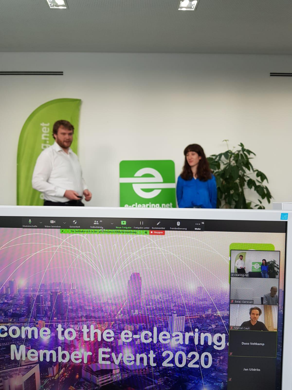 Successfull online member event with historic milestones