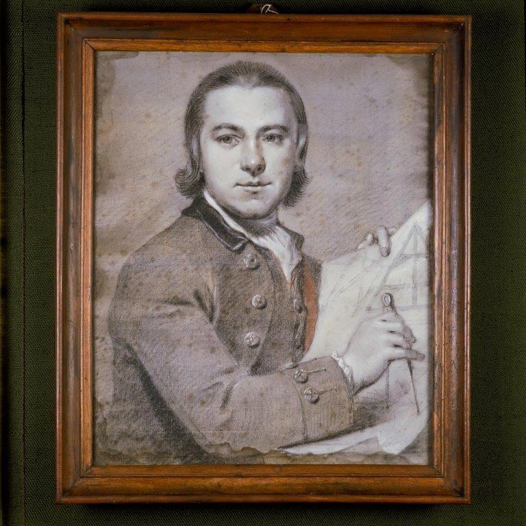Fundatie van Renswoude Utrecht - Getekend portret élève