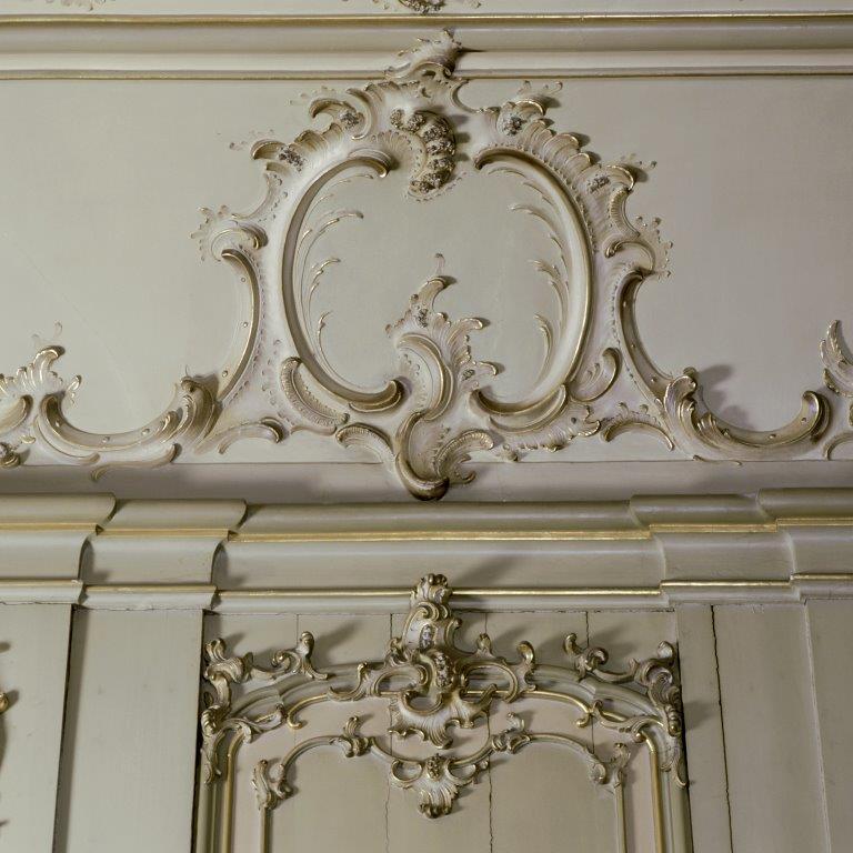 Regentenzaal - Details stucplafond en wanden