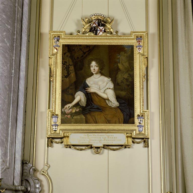 Regentenzaal - Schilderij stichteres Maria Duyst van Voorhout