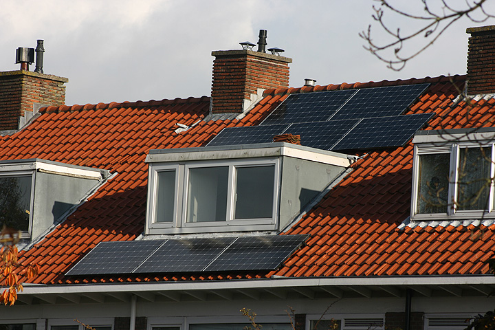 8 zonnepanelen Trina Solar Voorburg