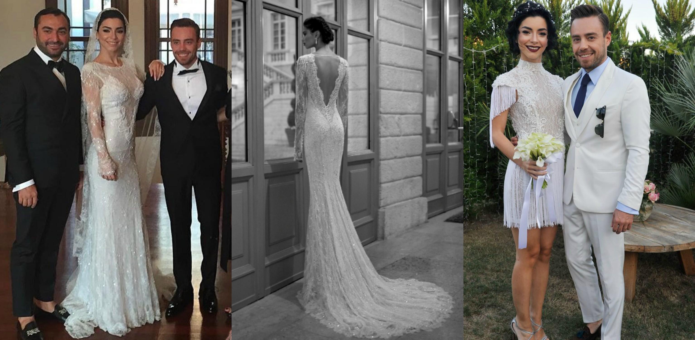 فساتين زفاف بأكمام طويلة 2015