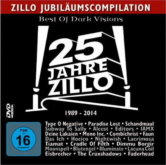 Various 1-A - 25 Jahre Zillo 1989-2014 (video)