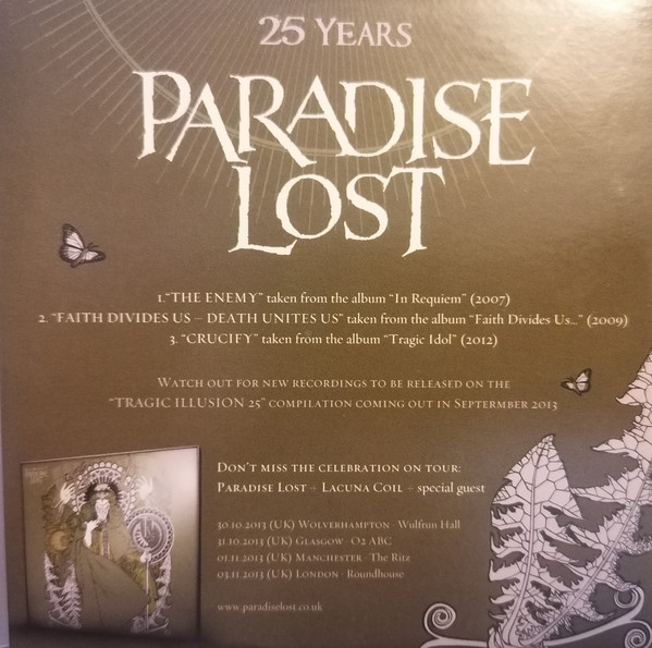 Various 1-A - 25 Years Paradise Lost