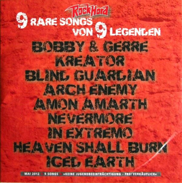 Various 1-A - 9 Rare Songs Von 9 Legenden