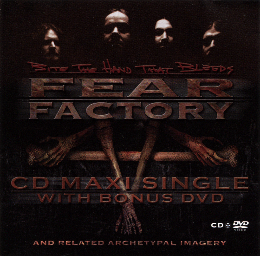 Fear Factory - Bite The Hand That Bleeds