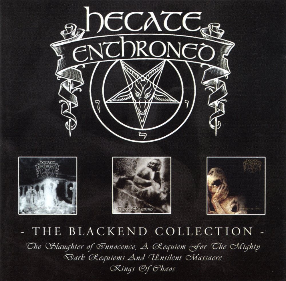 Hecate Enthroned - The Blackend Collection