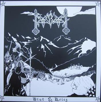 Moonblood - Blut & Krieg / Sob A L�a Do Bode