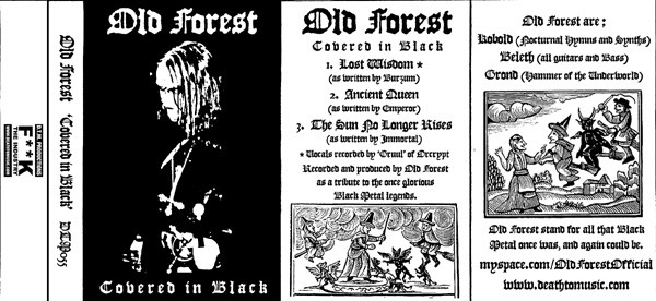 Old Forest - Covered in Black (demo)