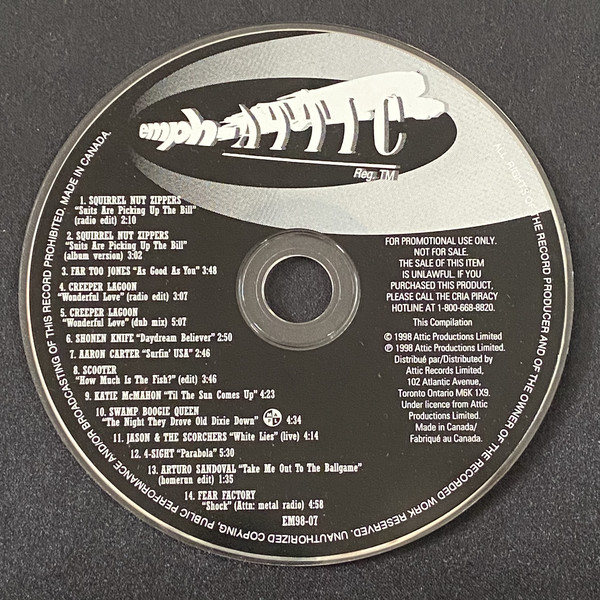 Various E-F - EMPH-Attic July 1998
