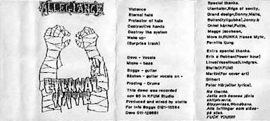 Allegiance - Eternal Hate (demo)
