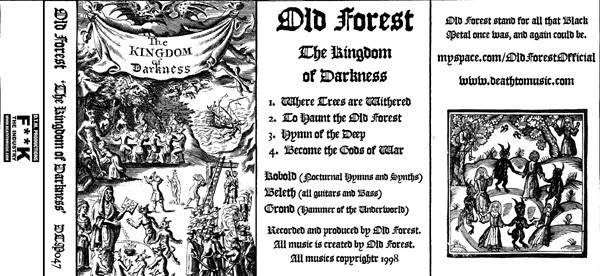 Old Forest - The Kingdom of Darkness (demo)
