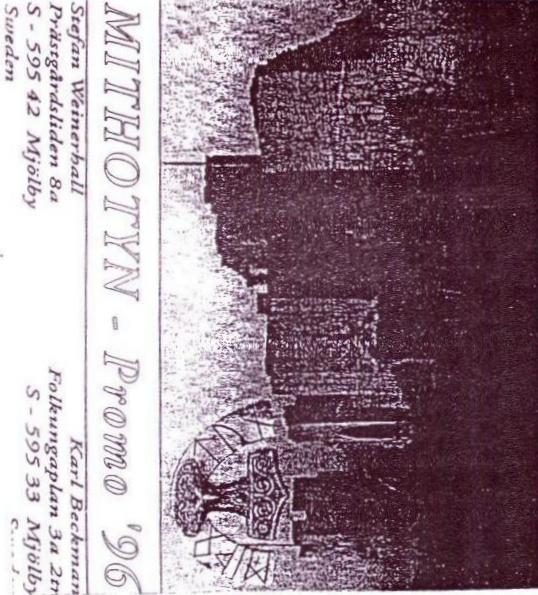 Mithotyn - Promo '96 (demo)
