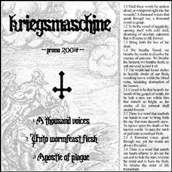 Kriegsmaschine - Promo 2004 (demo)