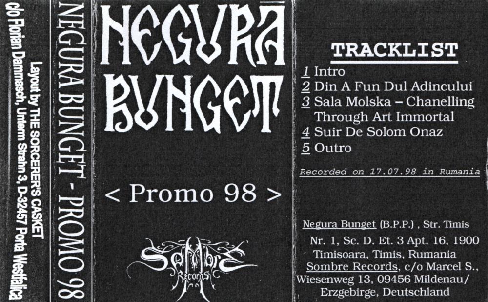 Negură Bunget - Promo 98