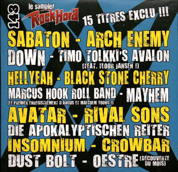 Various - RockHard Magazine (FR) - RockHard N�143