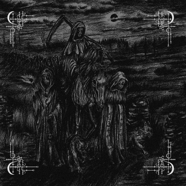 Behexen - Split with Satanic Warmaster