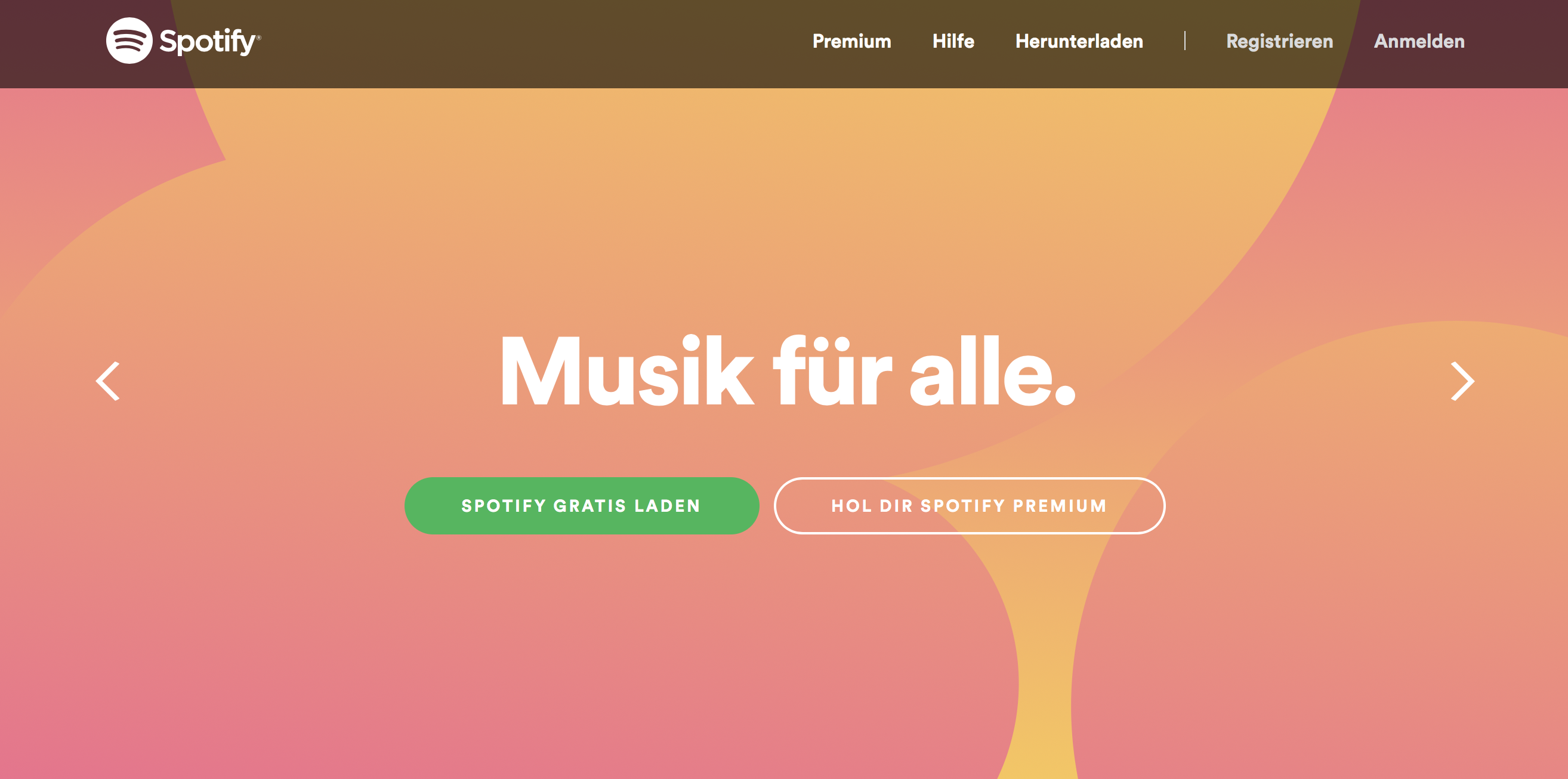 Der Musik-Streamingdienst Spotify hat über 75 Millionen User.