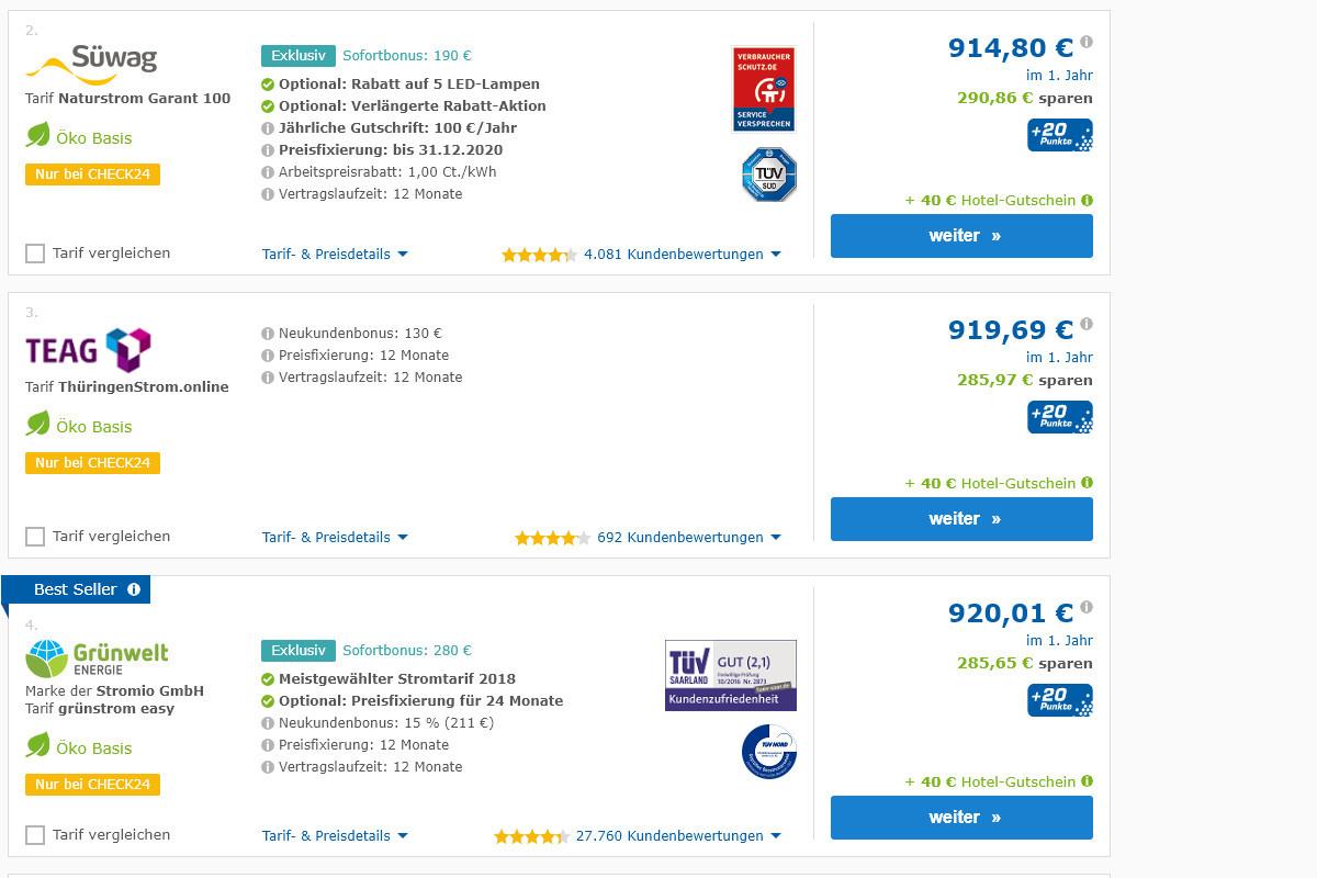 Vor allem durch Neukundenboni ist jedes Jahr locker eine Ersparnis von 200 Euro und mehr drin.