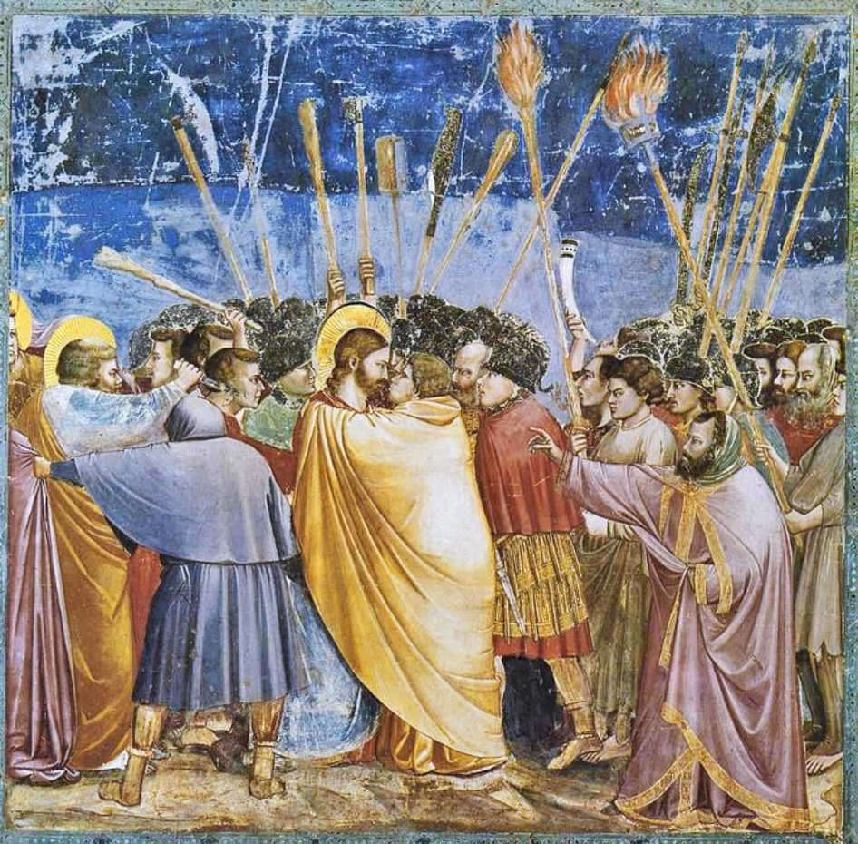 """Judaskuss und Gefangennahme"", Cappella degli Scrovegni, Padua"