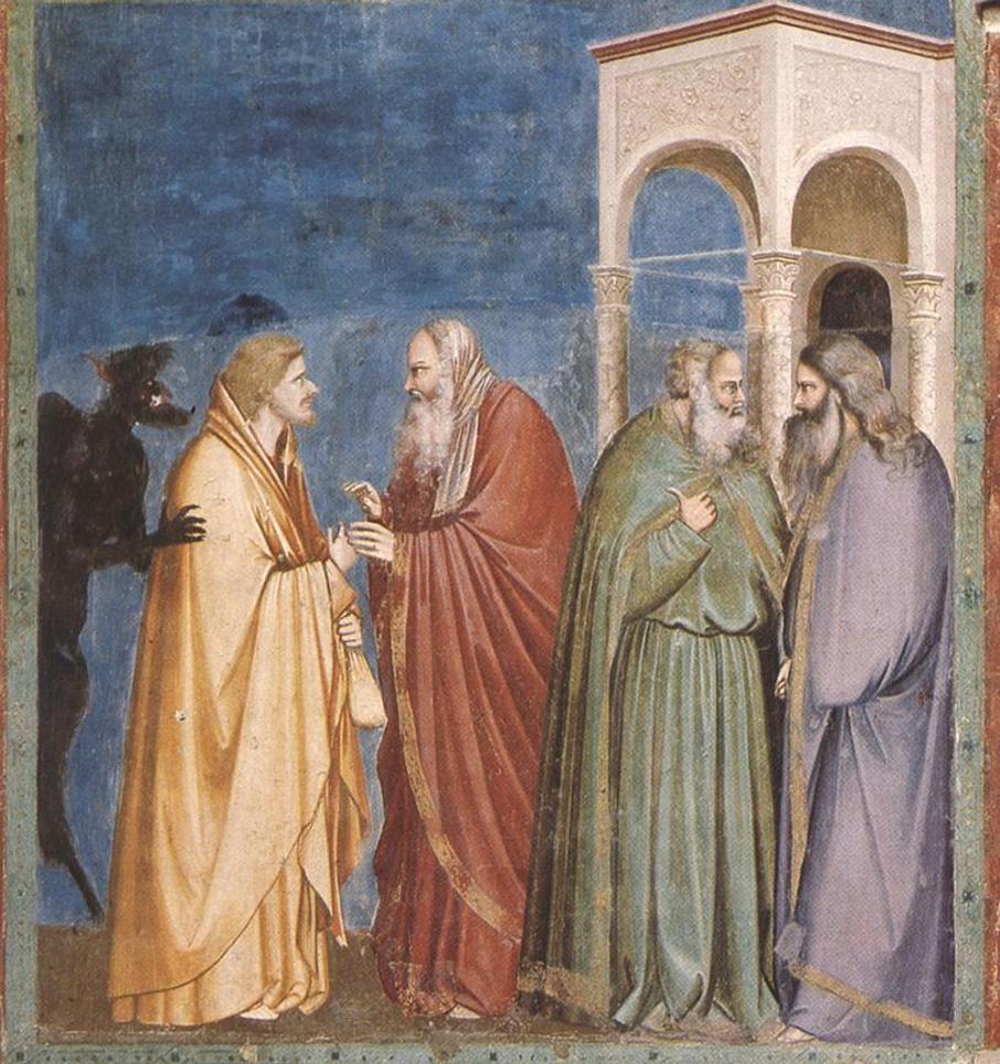 """""""Der Verrat des Judas"""", Cappella degli Scrovegni, Padua"""