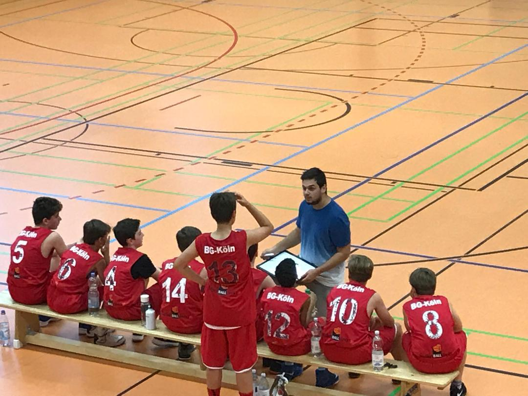 Teamwork makes the dream work! Die Mannschaft meines Sohnes.