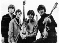 Beatles Ad 1965 Just The Beatles Crop