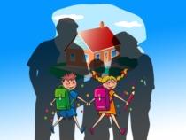 Eigenheim Familie Traum