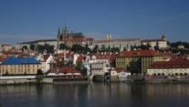 Prag Blick Auf Den Regierungssitz Min
