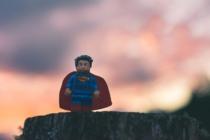 Superheld Lego