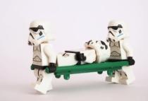 Verletzter Stormtrooper