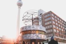 Zaster Artikel Deutschland Berlin Wahrzeichen Jubiläum Wiedervereinigung